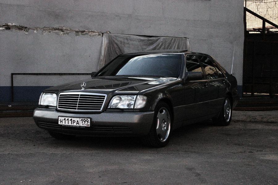 Mercedes-benz w140 s600 w12 - 7c
