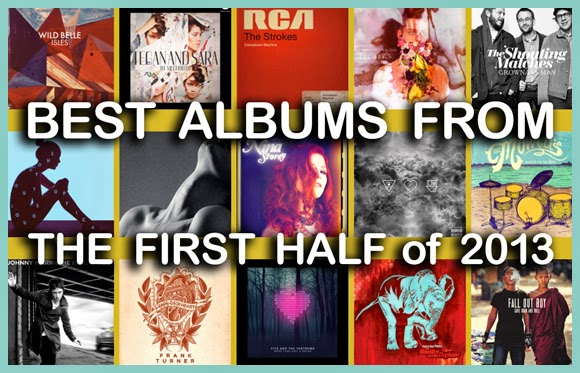Best Albums from the First Half of 2013