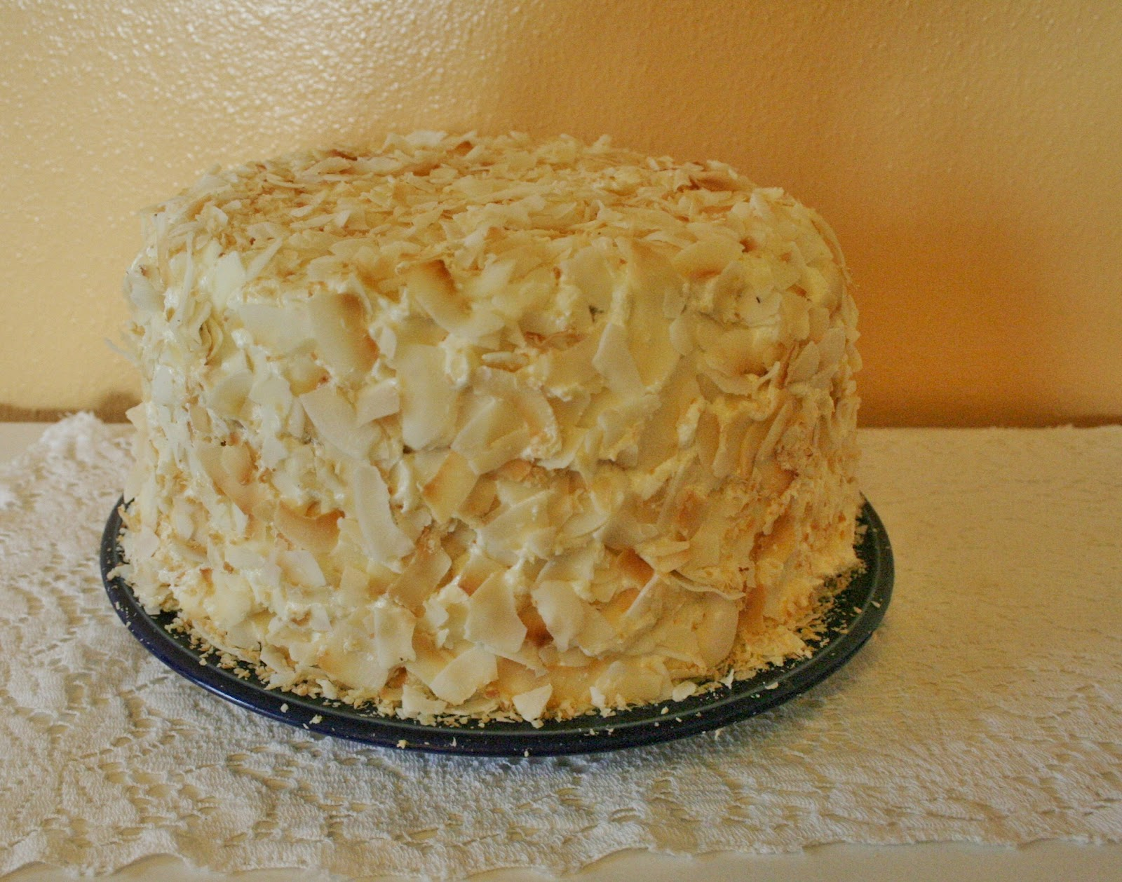Breathe in and Bake: Coconut Southern Comfort Layer Cake