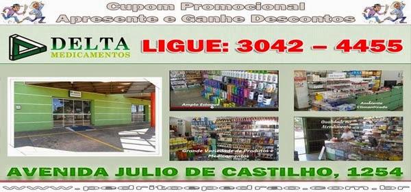 Delta Medicamentos Júlio de Castilho