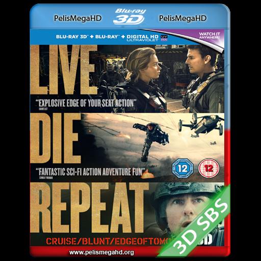 AL FILO DEL MAÑANA (2014) FULL 3D SBS 1080P HD MKV ESPAÑOL LATINO