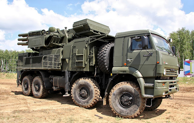 Pantsir S1 (SA-22 Greyhound)