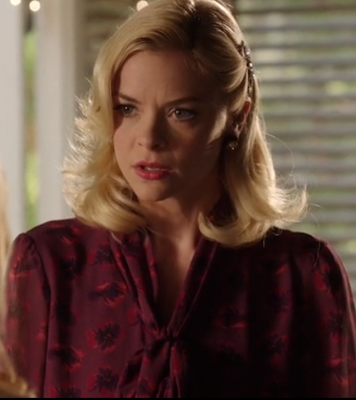 "Lemon's Tory Burch Bryce Silk Blouse Hart of Dixie Season 2, Episode 12: ""Islands In the Stream"""