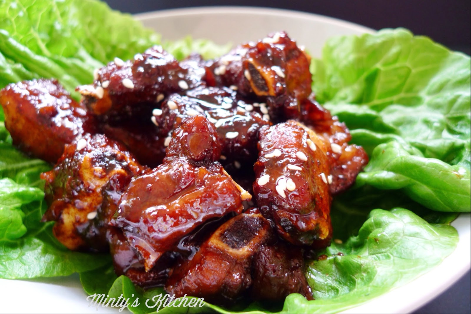 Braised Sweet & Sour Chinkiang Vinegar Spare Ribs (浙江糖醋排骨)