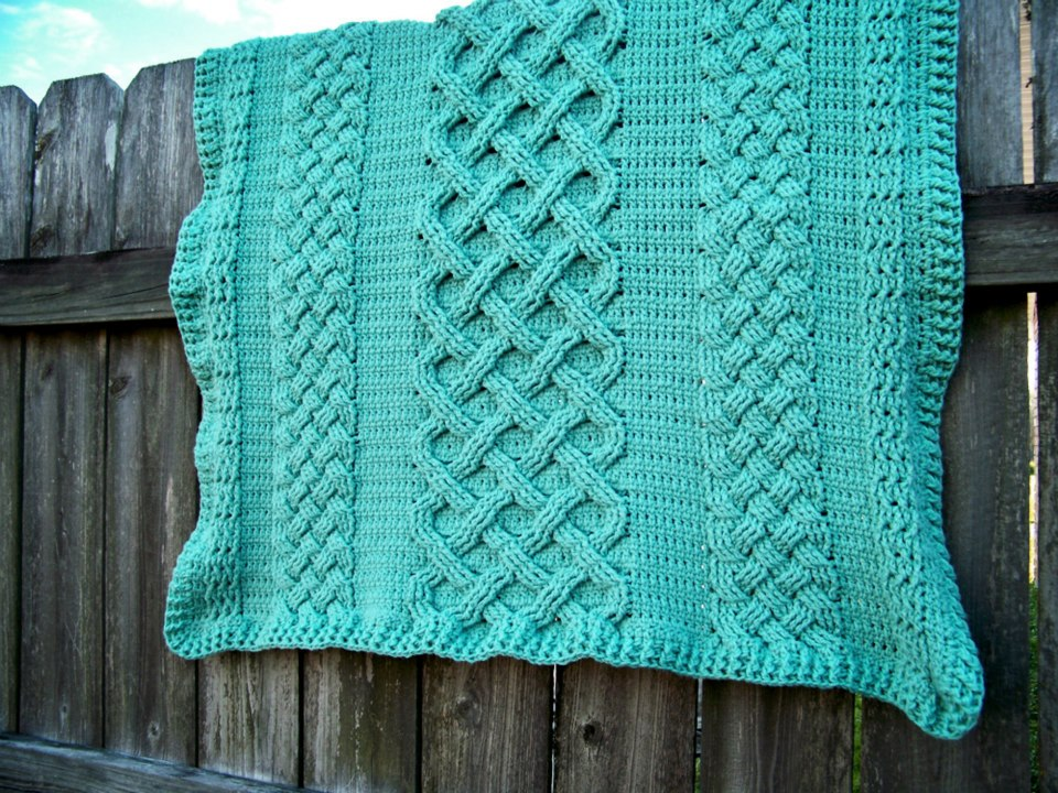 Crochet Cable Baby Blanket Pattern : The Crochet Cabana Blog: DW scarves