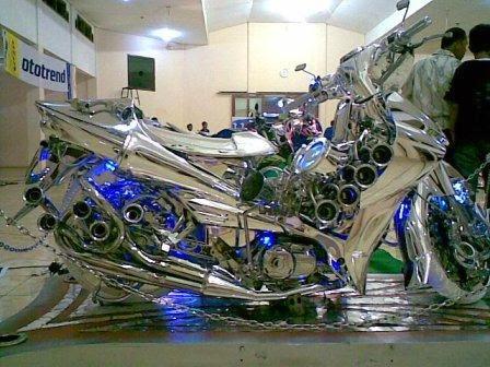 kumpulan foto motor modisikasi keren dan unik