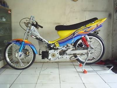 Foto foto motor drag