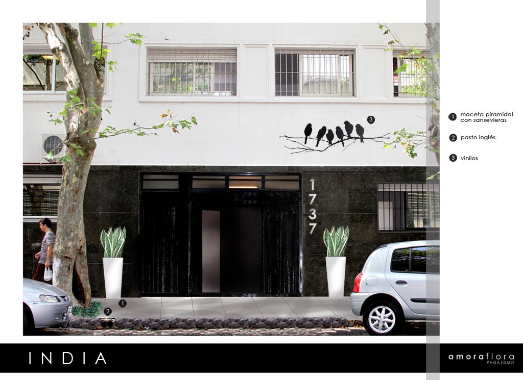 Amoraflora paisajismo proyecto oficina agencia de for Proyecto oficina