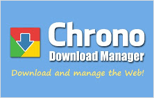 Chrono download manager extension for Google Chrome
