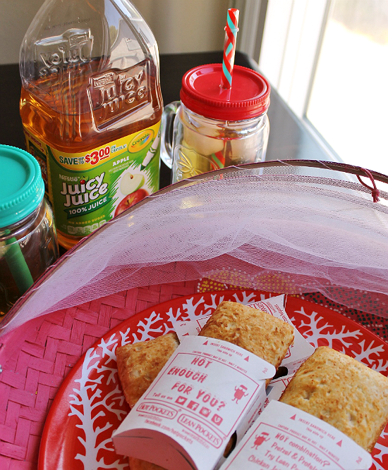 Hot Pockets and Juicy Juice are a snack combo the entire famiyl loves. Thank goodness I can buy a 12 pack of Ham and Cheese Hot Pockets at Walmart- they disappear quick after schoool!  #MyGoodLife #CollectiveBias #Shop