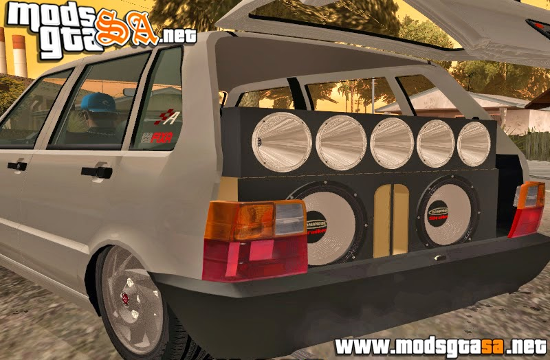 SA - Fiat Uno Mille 1995 Edit + Som