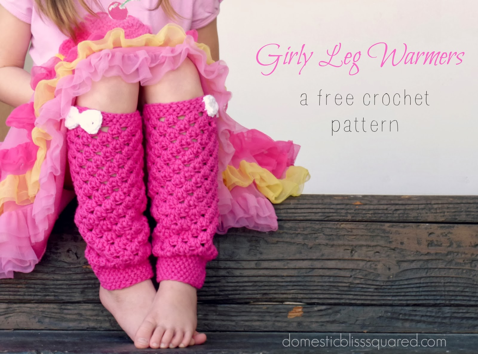 Crochet Free Patterns For Leg Warmers : Girls Crochet Leg Warmer Patterns gnewsinfo.com