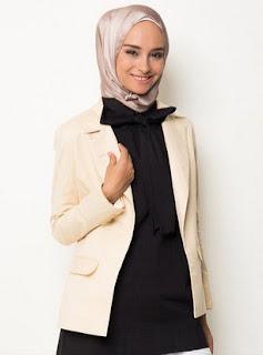 3 Koleksi Baju Muslim Blazer Modern Masa Kini