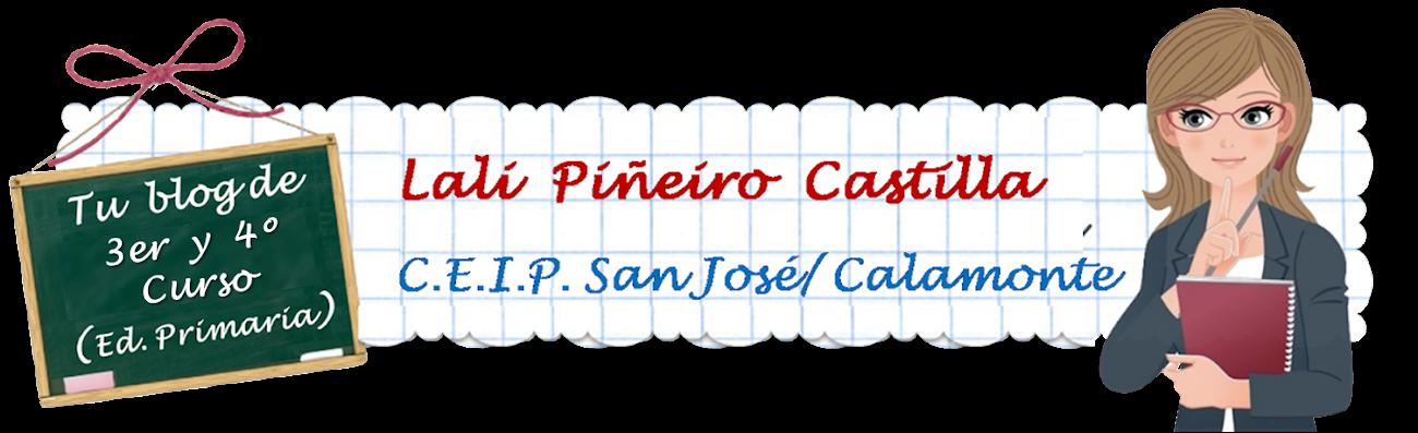 Lali Piñeiro Castilla - 3er Curso                  C.E.I.P. San José / Calamonte