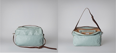 Ally Capellino Jerry handbag mint, white, black