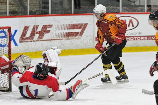 """ZAHL regulārā čempionāta spēle starp HK """"Stājhokejs"""" un HK """"Tērvete"""""""