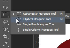 photoshop cs6 : marquee tool