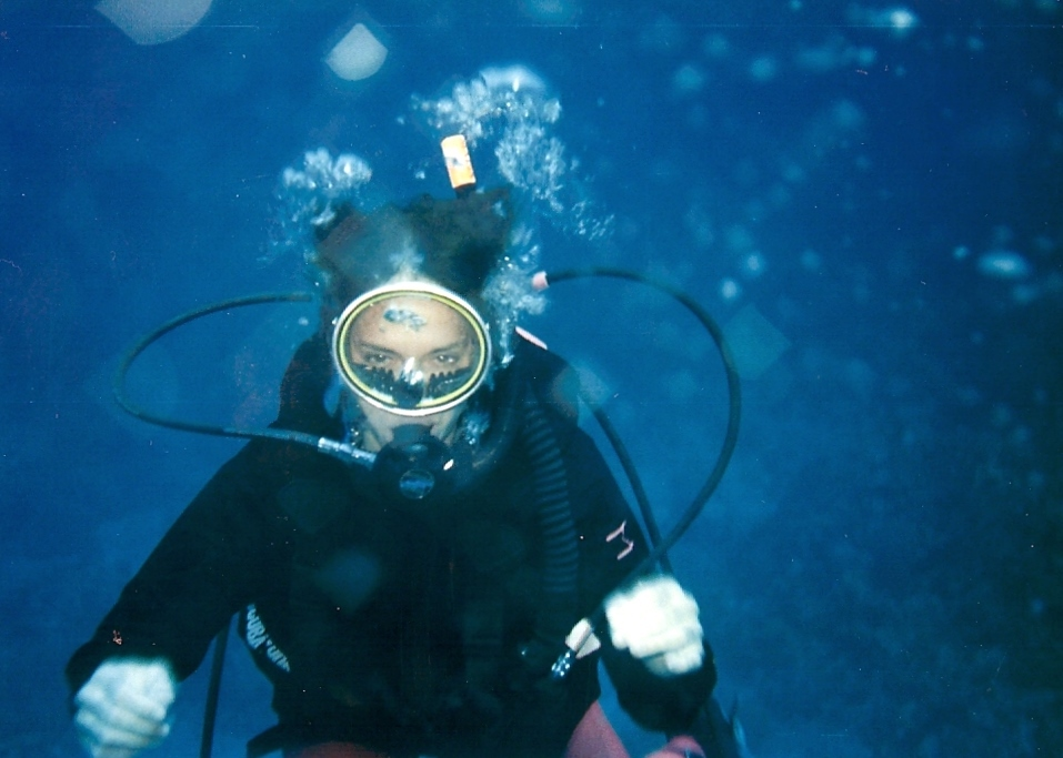First Deep Water Dive