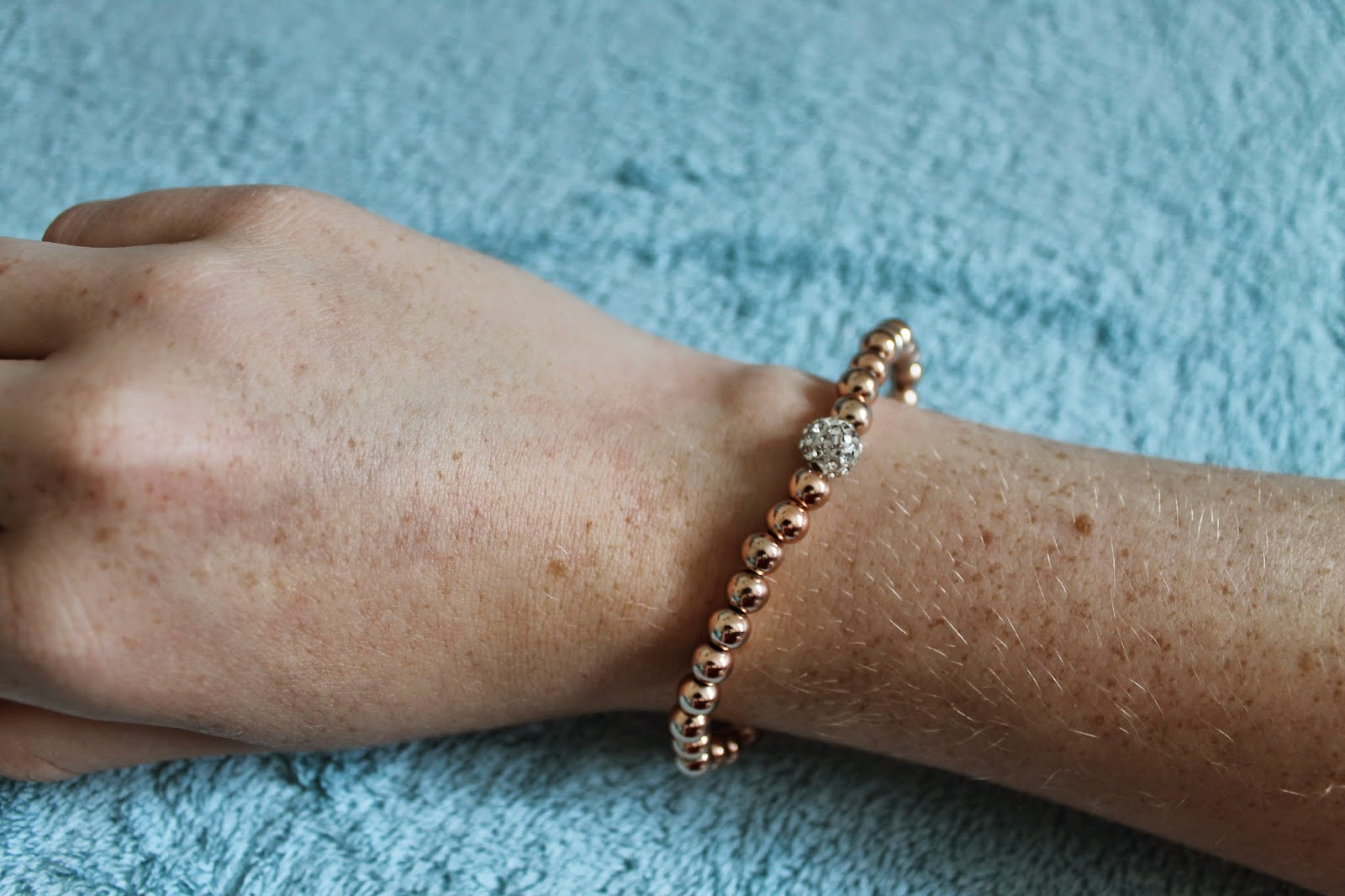 19th Birthday Haul Rose Gold Bracelet