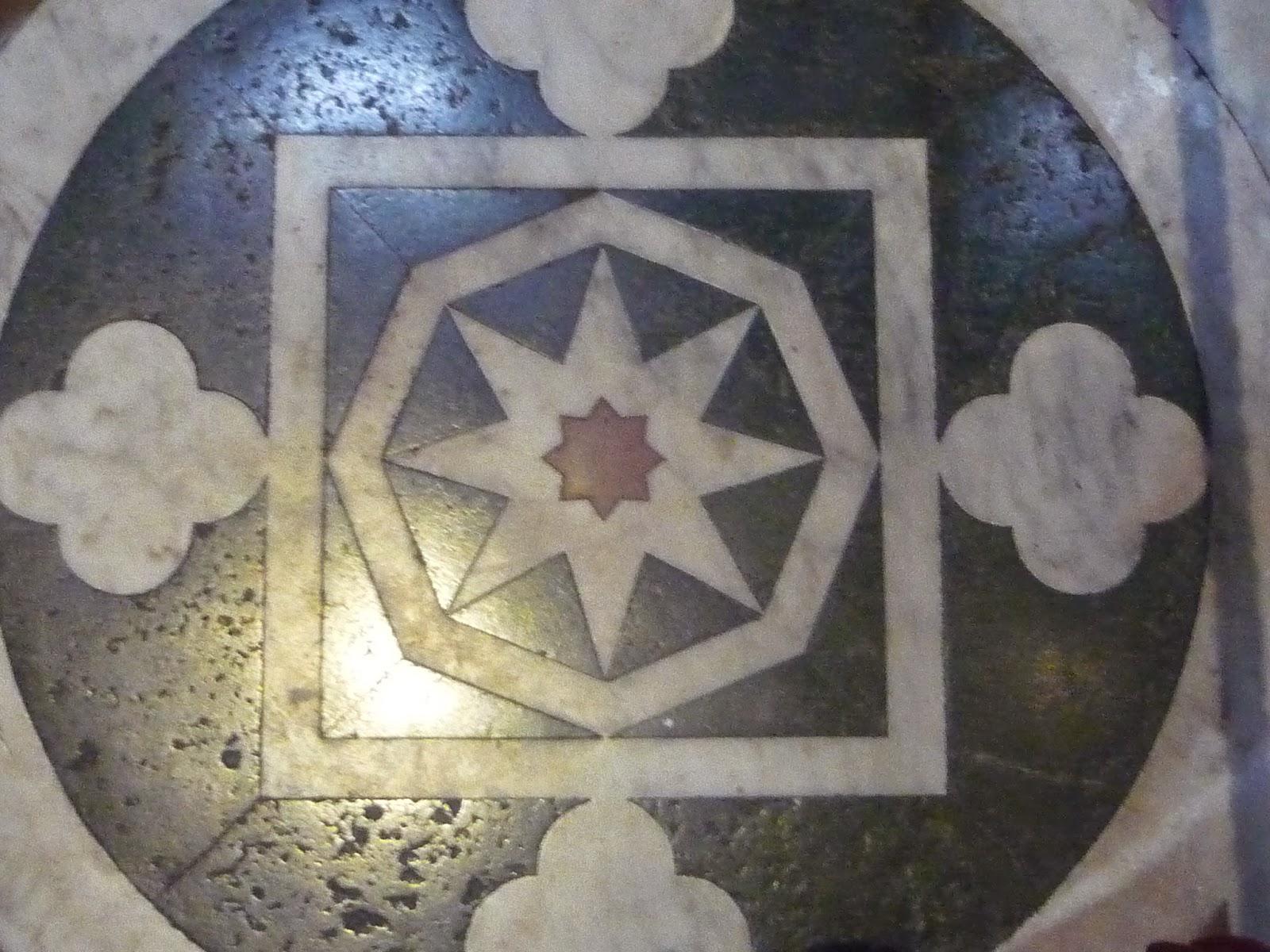 Superposición (suelo del Duomo de Siena), Beatriz 2010