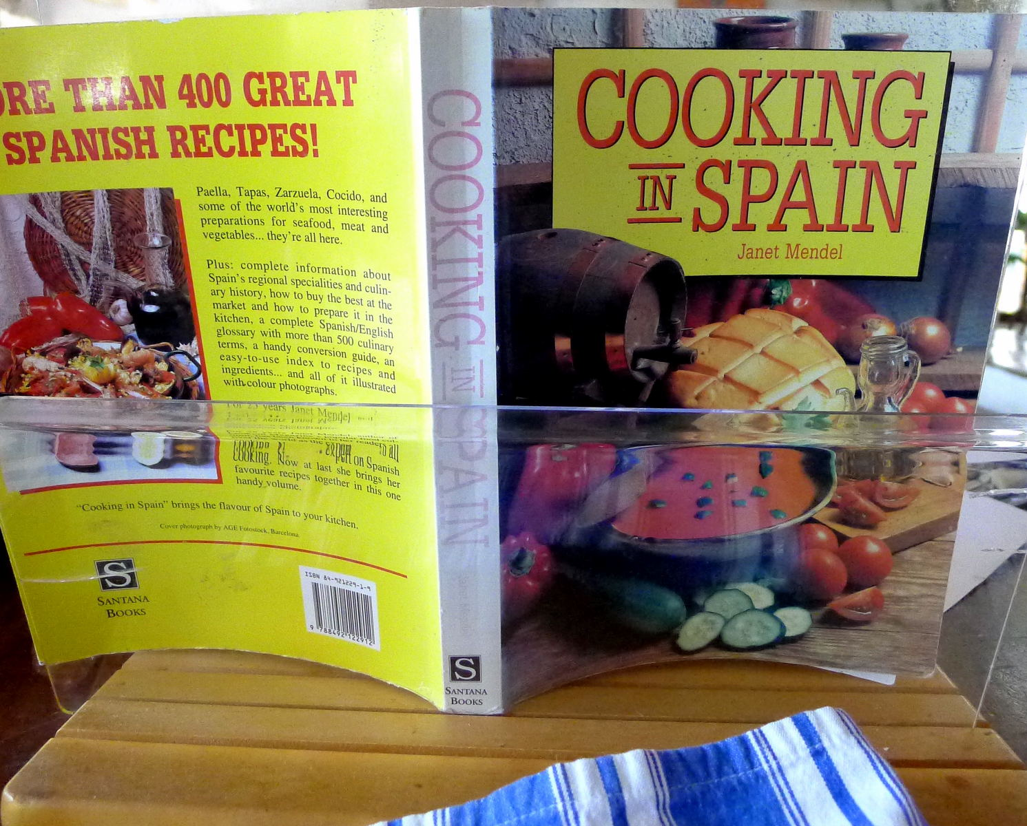 My kitchen in spain bring back an old favorite when i prepared a new edition of my first ever cookbook cooking in spain 1987 2006 i edited it down from more than 400 recipes to fewer than 300 forumfinder Choice Image