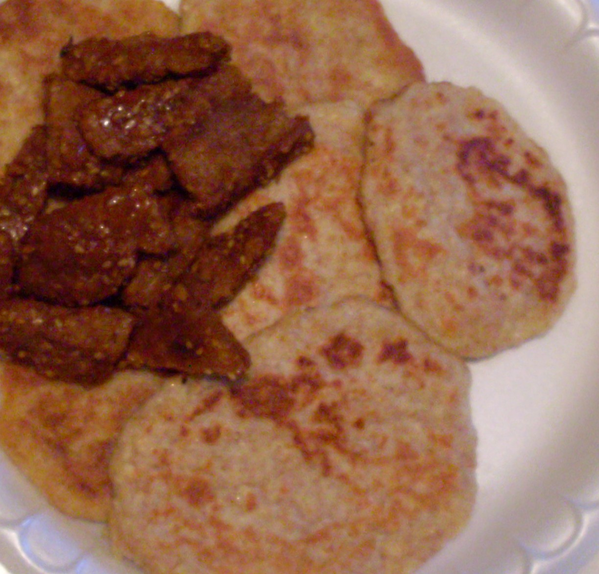 Delicioso, Another Name for Delicious: Savory Corn Pancakes