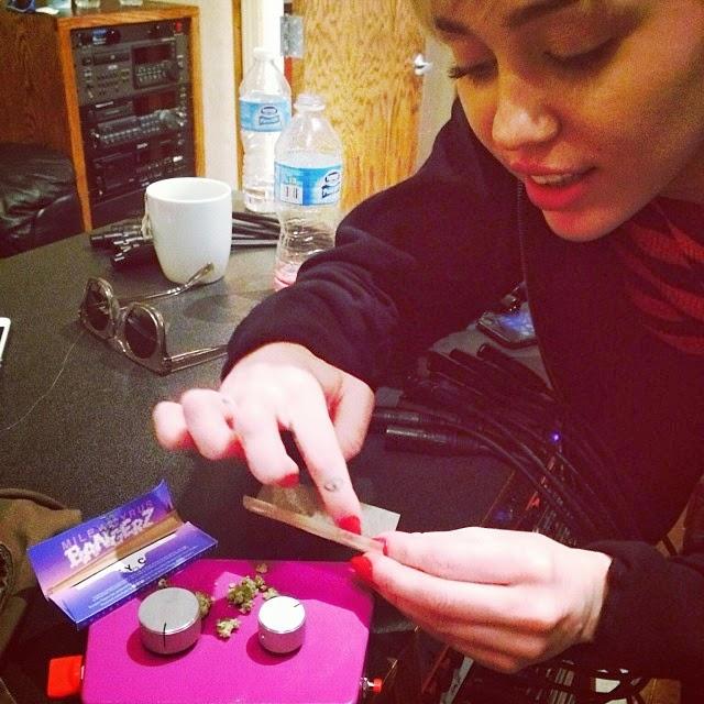 Como hacer cigarros de marihuana con Miley Cyrus