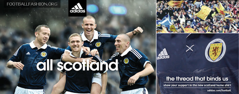 Scotland's new home shirt