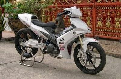 Gambar Modifikasi Motor Bebek