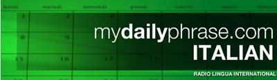 maydailyphrase.com apprendre l'italien en ligne gratuitement
