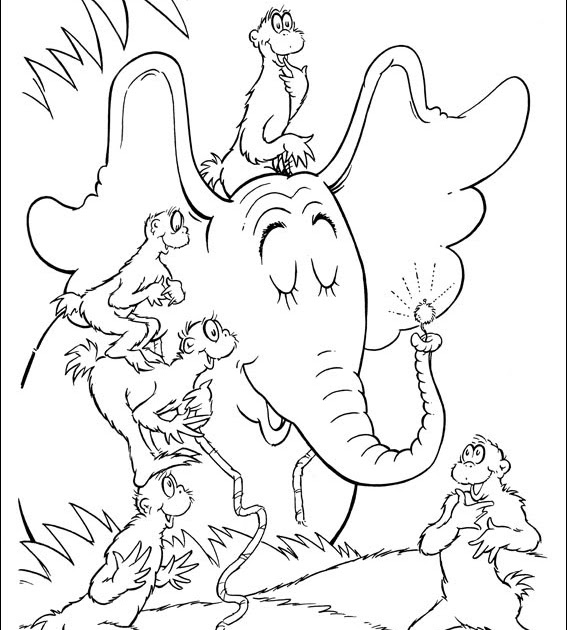 Coloring Pages For Green Eggs And Ham