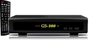 Atualizacao do receptor Globalsat GS 300 V