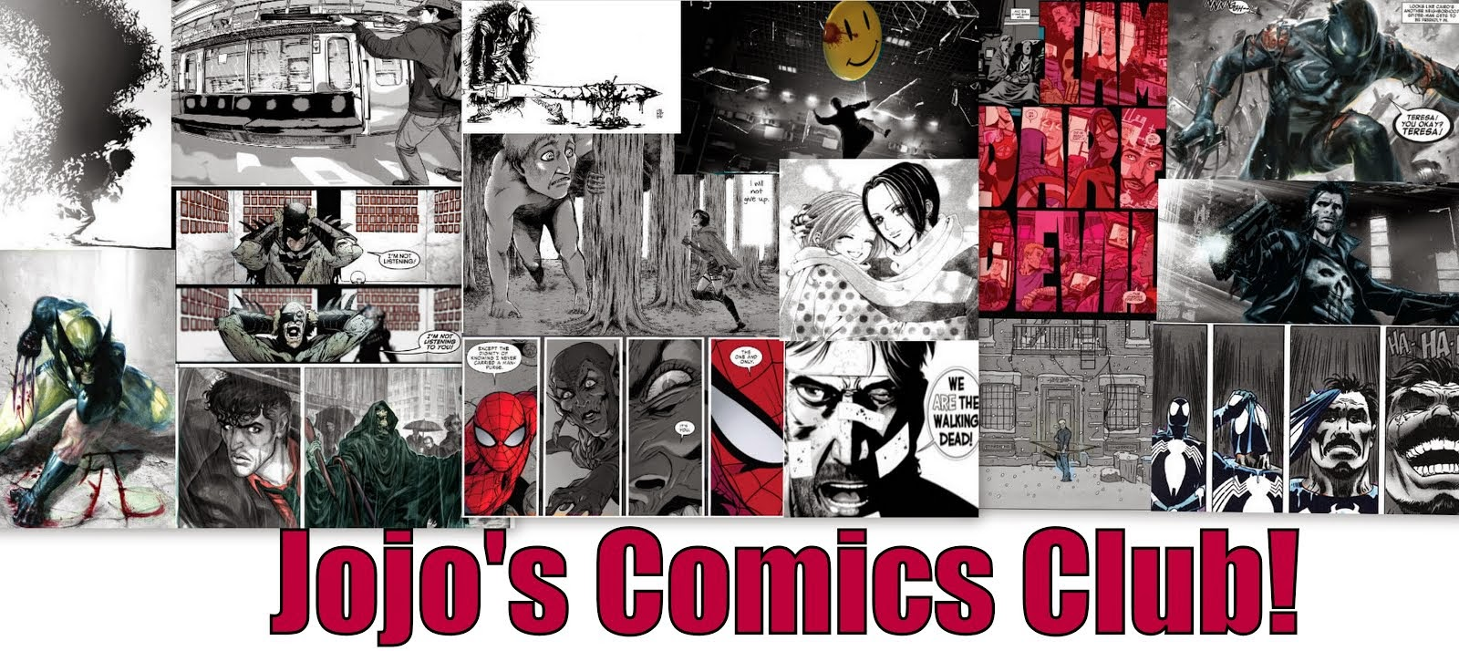 Jojo's Comics Club!
