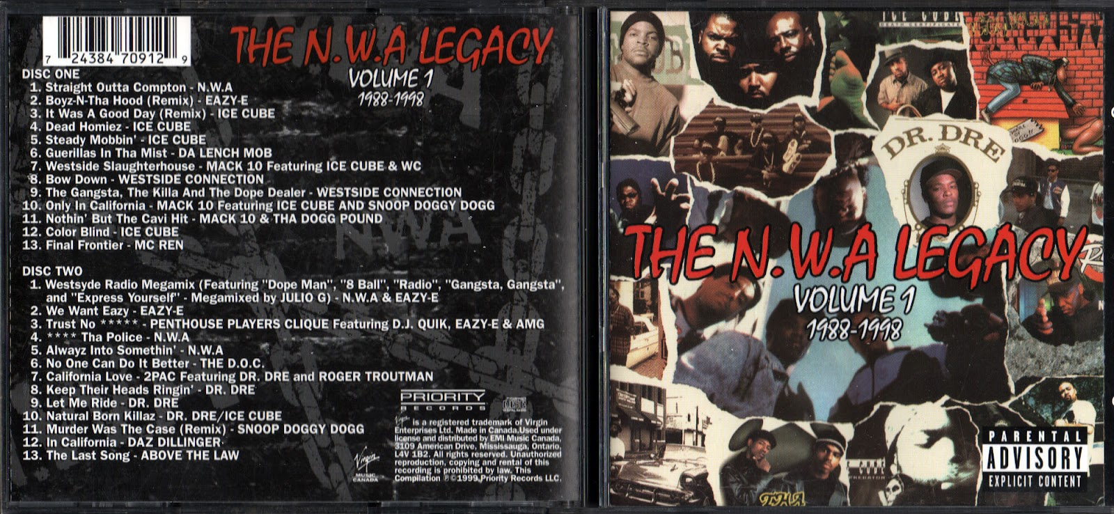 N.W.A. - Express Yourself / Straight Outta Compton