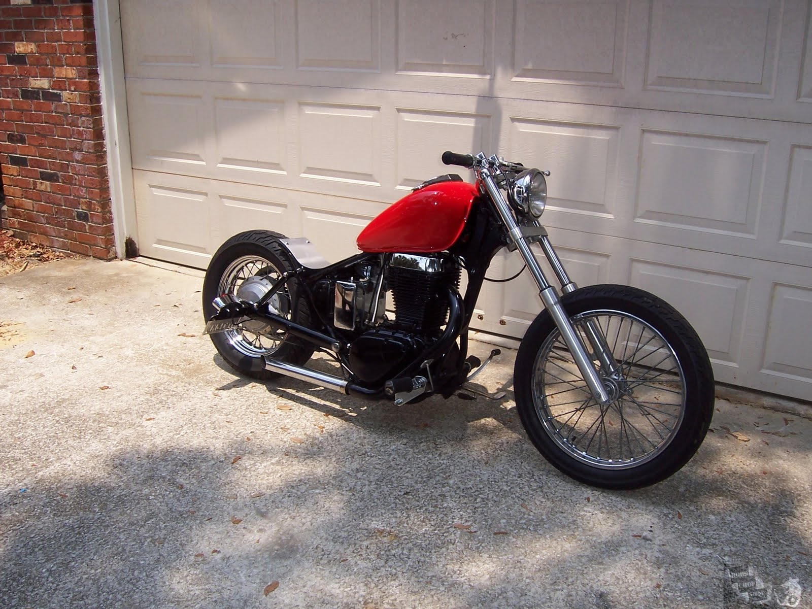 suzuki+savage+ls650+bobber+chopper+red+1