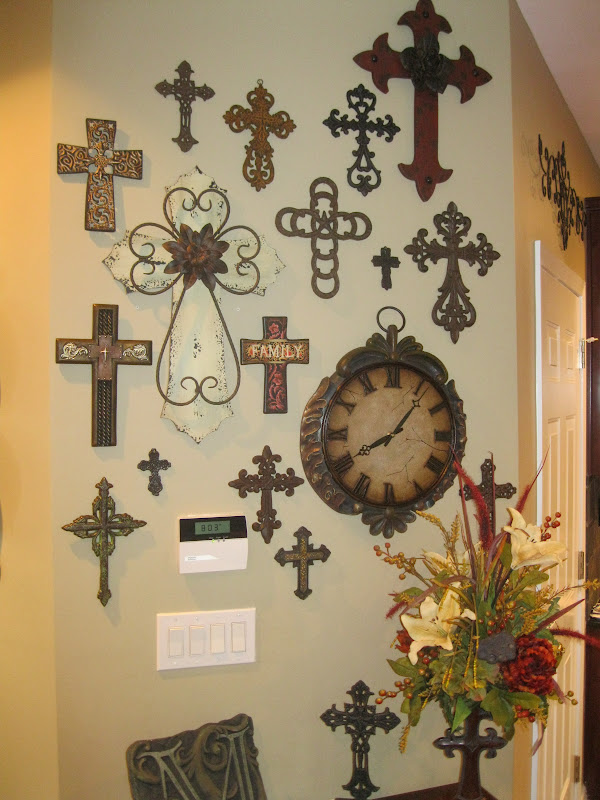 Wall Crosses Home Decor : Ideas about cross wall collage on