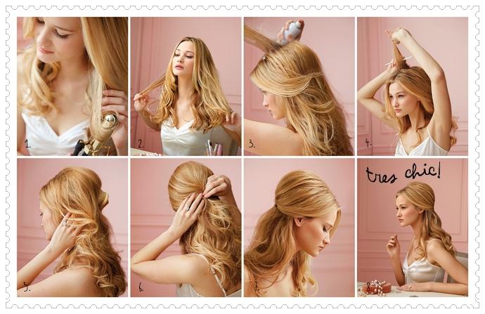 Как сделать причёску на длинные волосы