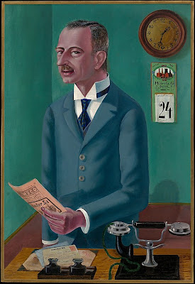 Otto Dix - The Businessman Max Roesberg, Dresden
