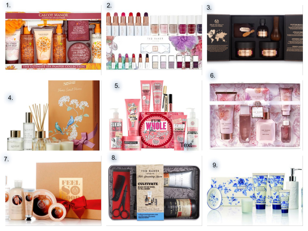 Christmas Gift Set Ideas 2015