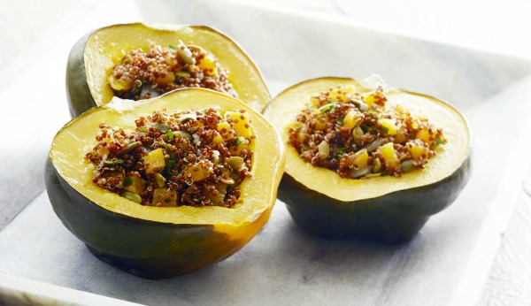 Amaranth Stuffed Squash - Kim's Welcoming Kitchen