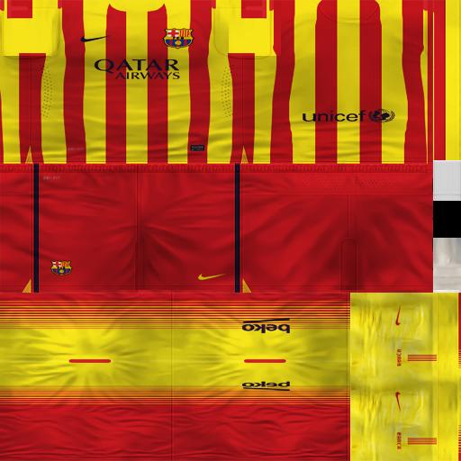 b1c83b3655b ultigamerz  FC BARCELONA 2014-15 KIT PES 6