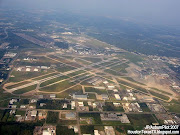 William P. Hobby Airport Houston TX. (hobby airport houston texas aerial view runways cwilliam)