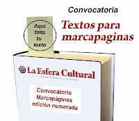 marcapaginas, convocatoria