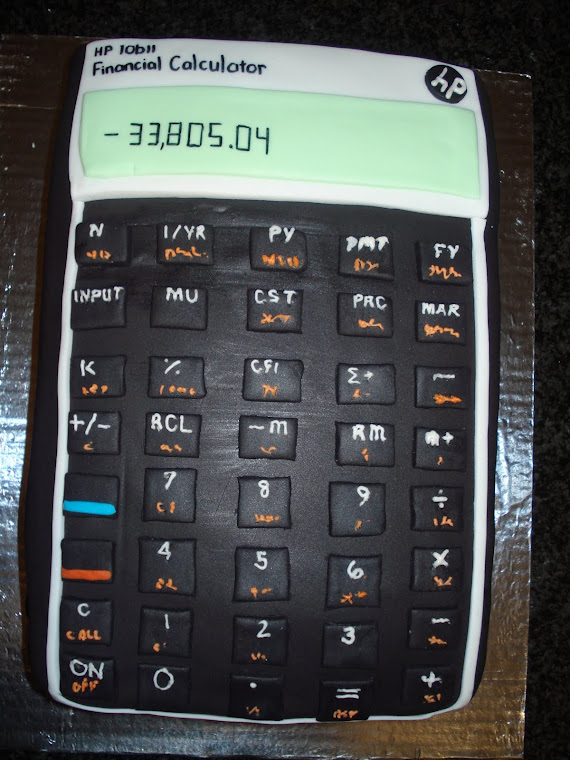 HP Calculator Cake