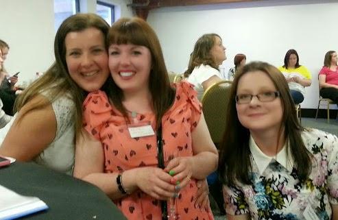 g bloggers - Nadine (Jugglemum), kerrie (WifeMumStudentBum) and Susan (SusanKMann).