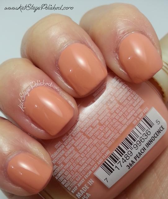Milani Nail Lacquer - Peach Innocence