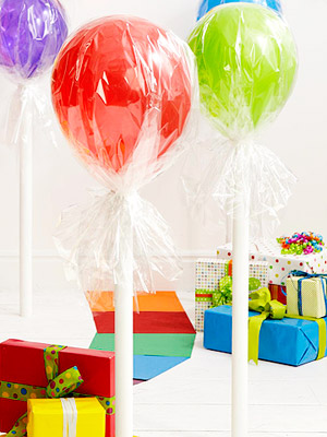Balloon Lollipops