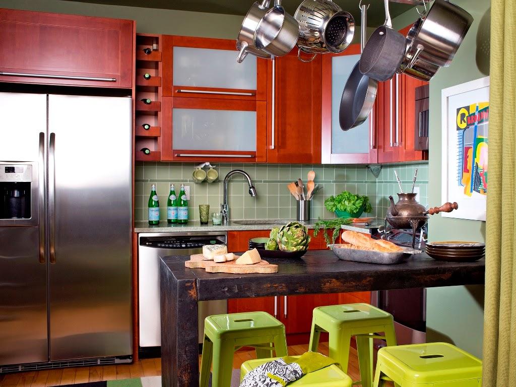 3 Cara Praktis Segarkan Dapur Rumah