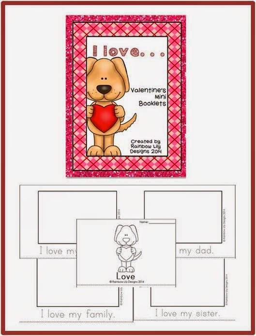http://www.teacherspayteachers.com/Product/Valentines-Mini-Booklets-I-loveQueensland-Print-1081236