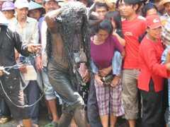 Upacara Adat Kebo keboan Alasmalang, Banyuwangi...!!!
